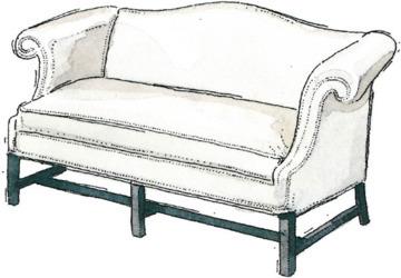 Camelback Sofas