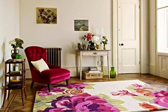 affordable spring furniture ideas floral rug