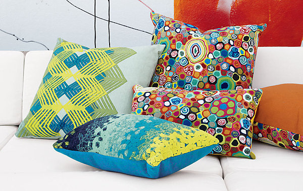 affordable spring furniture ideas throw pillows