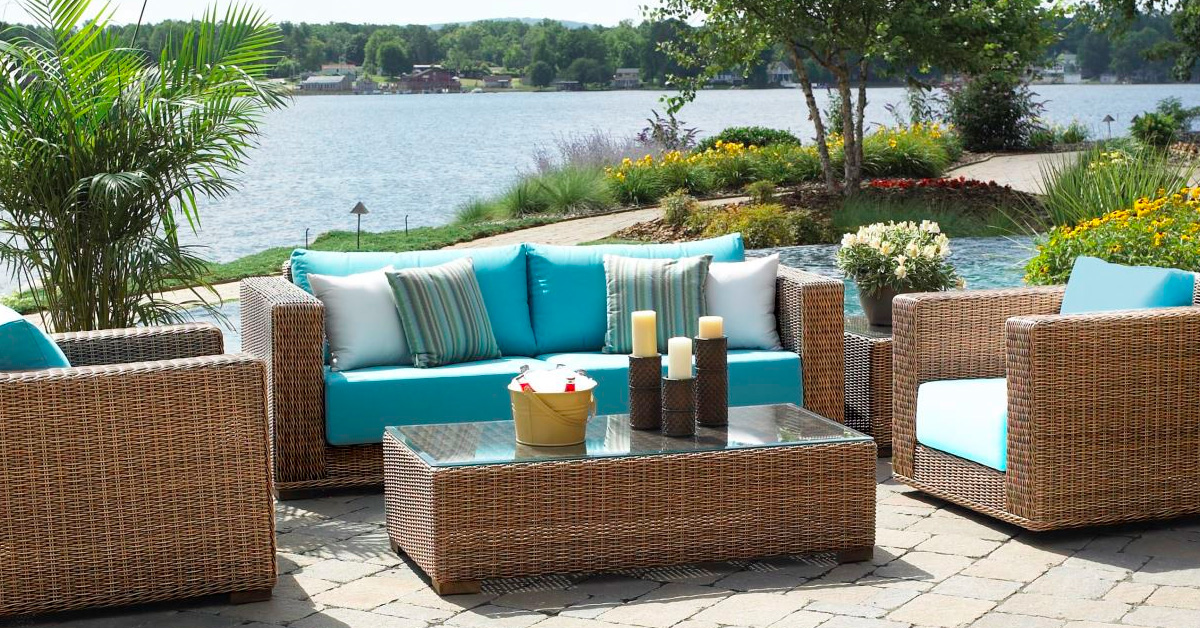 Buy Patio Furniture Wicker