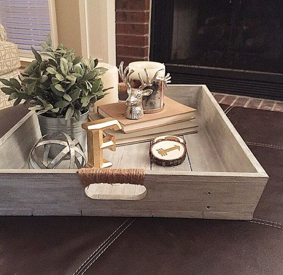 affordable spring furniture ideas wood tray
